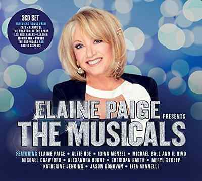 Various Artists-Elaine Paige Presents The Musicals  CD NEW