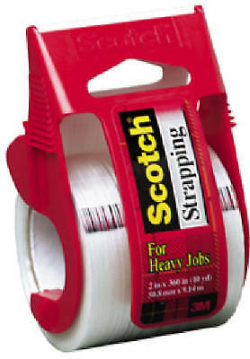 "3M 350 Heavy-Duty Strapping Tape-2""X360"" STRAPPING TAPE"