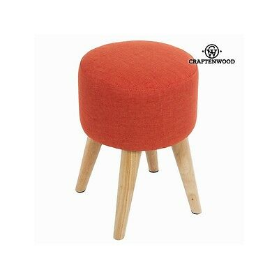 Tabouret rond sixty rouge - Collection Love Sixty by Craften Wood - Neuf