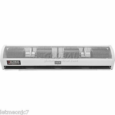 Air Curtain 48 Inch Commercial Air Conditioner Heated Remote Control Door Window