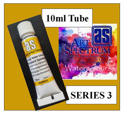 ART SPECTRUM FINEST ARTIST PERMANENT GAMBOGE WATERCOLOUR 10ml TUBE   SERIES 3