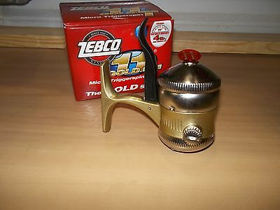 Zebco 11 Gold T micro triggerspin reel NIB