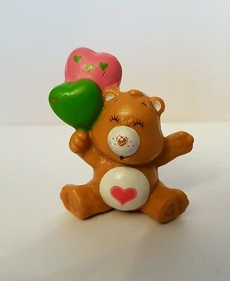 Vintage A.G.C Care Bear - Tender Heart Bear with Balloons Pvc Figure