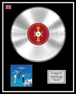 TAKE THAT Ltd Edition CD Platinum Disc Record THE CIRCUS
