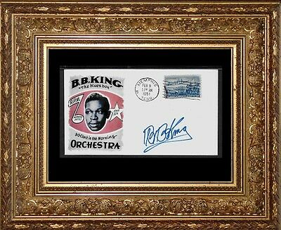 BB King Featured on Limited Edition Collector's Envelope Repro Autograph *1013