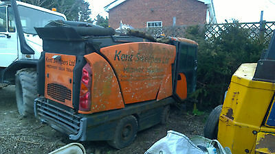 johnston sweeper pavement sweeper breaking for spares hydrastatic drive