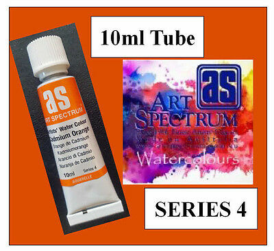 ART SPECTRUM FINEST ARTIST CADMIUM ORANGE WATERCOLOUR 10ml TUBE  SERIES 4