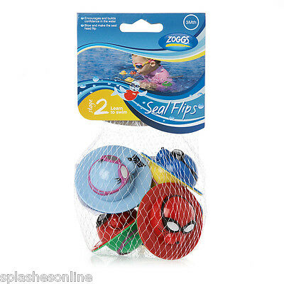 Zoggs Zoggy Seal Flips - Set Of 5 - Baby Water Toys