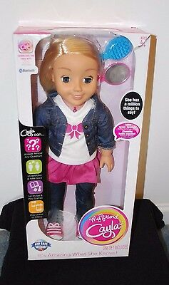 New 18 Inch My Friend Cayla Interactive Girl Doll Electronic Dolls Android Ios