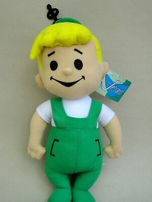 "Doll Soft Stuffed Toy Elroy Jetsons Son Hanna Barbera WB Toy Factory 14"" hangtag"