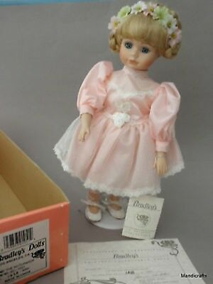 Bradleys Porcelain Doll Nutcracker Ballerina 1994 Limited Edition 1438 of 5000