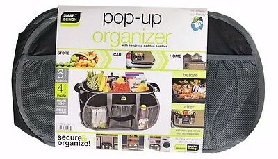 NEW Pop-Up Organizer Smart Works (Gray & Black) NEOPRENE PADDED For Comfort!!