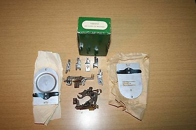 9 Singer & Simanco Sewing Machine Attachments in Singer Box