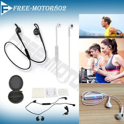 Wireless Bluetooth Headset Stereo Headphone Earphone for iPhone Samsung Free Bag