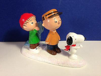 Dept 56 Peanuts Village ONE BEAGLE FOR THE SHOW Charlie Brown Snoopy NIB!
