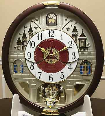 Seiko Melodies In Motion Clock - New Collectors Edition - QXM565BRH Ships Free !