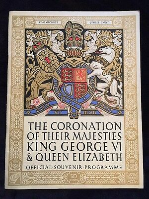The Coronation Of Their Majesties King George VI & Queen Elizabeth Official