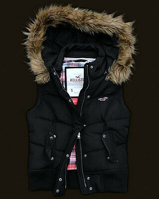 Ladies' Hollister Pacific Down Vest Gilet by A&F Abercrombie&Fitch