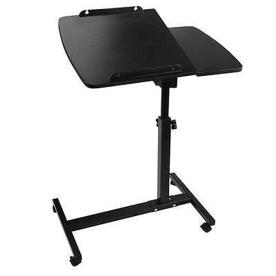 Mobile Laptop Desk Adjustable Notebook Computer iPad PC Stand Table Tray Bed #AU