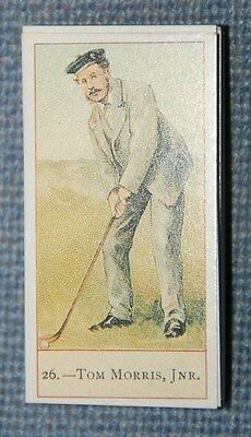 Cope Bros, Copes Golfers, 1900, 26-50 of 50 set - Reproduction 1983