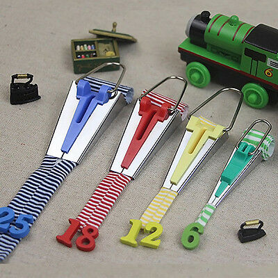 Set of 4 Size Fabric Bias Tape Maker Tool Sewing Quilting 6mm/12mm/18mm/25mm