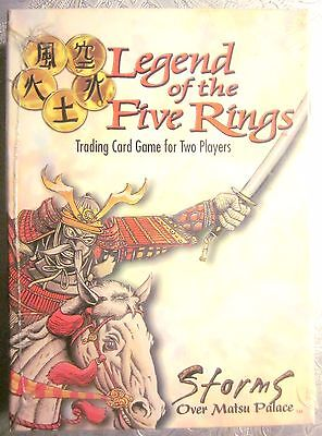 Legend of Five Rings L5R STORMS OVER MATSU PALACE Lion/Unicorn Starter (SEALED)