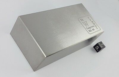 Wolfram-Barren - 2.87 kg - Pure Tungsten bar