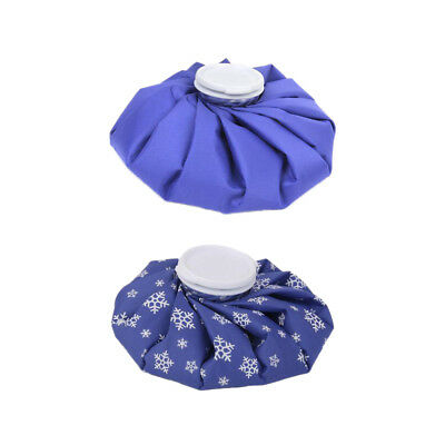 """2pcs 9"""" Reusable Ice Bag Heat Pack Sports Injury First Aid Body Pain Relief"""