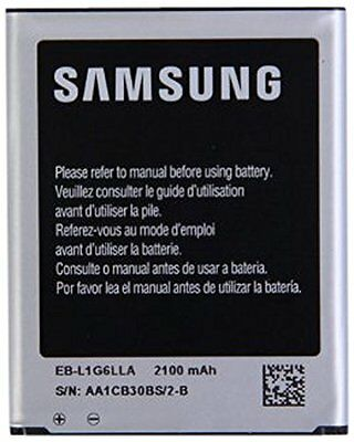 Original Genuine Samsung Galaxy S3 2100 mAh Spare Replacement Battery Cell Phone