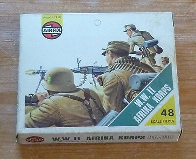 1970s Airfix OO scale WW2 Afrika Korps (2nd Edition)