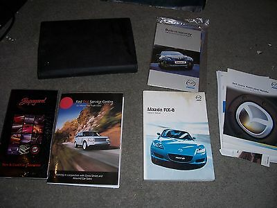 Mazda RX8 Owners Manual.