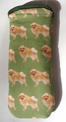 Bn- Pomeranian   Cotton Glasses Case