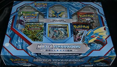 Mega Gyarados Collection Box Pokemon Trading Cards Game Booster Pack Package NEW