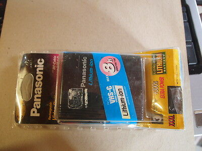 Panasonic Cgr-V816 8Hr Genuine Manufacturers Replacement Battery.nos.