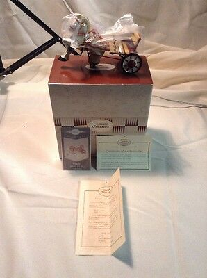 NEW Hallmark Kiddie Car Classic Late 1940's MOBO Sulky Sidewalk Cruisers Horse