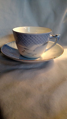 Bing & Grondahl Seagull Cup and Saucer #475