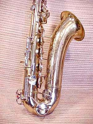 Vintage CONN SHOOTING STARS DIRECTOR TENOR SAX SAXOPHONE