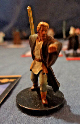Star Wars Miniatures Game Figure with card Universe Jedi Counsular 2/60 2006