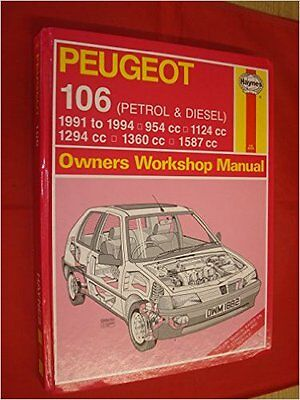 Peugeot 106 (Petrol and Diesel) Owners Workshop Manual 1882