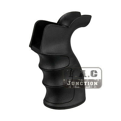 Tactical G27 Grooved Pistol Grip Ergonomic Non-Slip Motor Grip for 5.56 .223 AEG