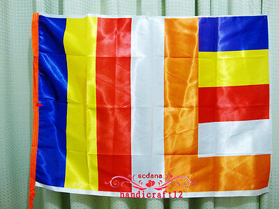 37 Inches Buddhism Flag Five Colors Interational  Religious Banner