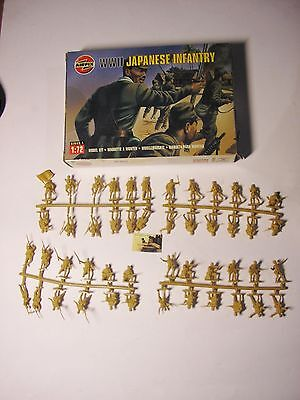 Soldatini Toy Soldiers Airfix ref 01718 WW II Japanese Infantry scala 1:72