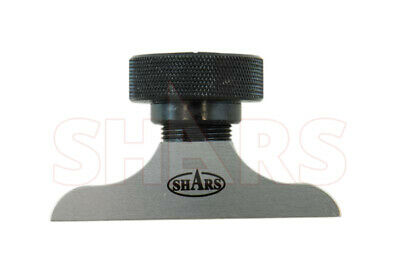 "Shars 2-1/2"" Precision Dial Indicator Depth Base Attachment New"