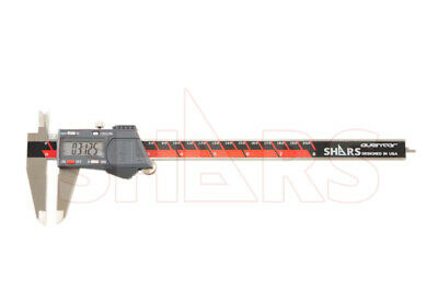 "SHARS Aventor 8"" /200mm DPS IP54 Electronic Digital Caliper DIN862 .0005"" NEW"