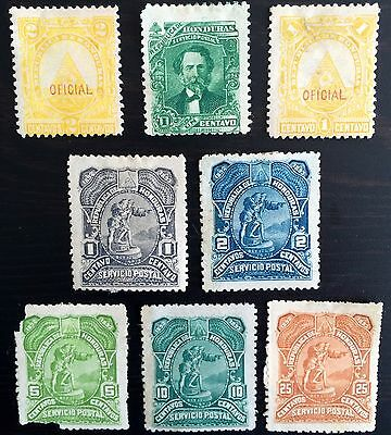 Antique Rare Collectible Set Of Honduras  Postage Stamps Latin America
