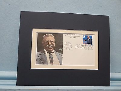 Rough Rider & President Teddy Roosevelt  & First Day Cover of his own stamp