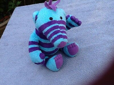 Small Flimble Soft Toy Purple Blue Florrie Fimbles