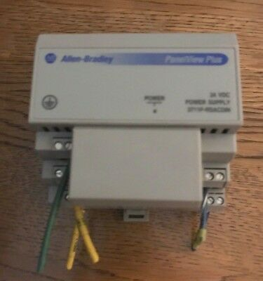 Allen Bradley AB 2711P-RSACDIN ac power supply 24VDC panel view plus