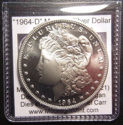 *Sold Out* 1964-D PL Morgan Dollar Die Pair 2 Overstrike Dan Carr Moonlight Mint