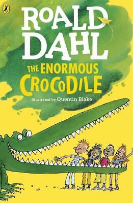 NEW The Enormous Crocodile By Roald Dahl Paperback Free Shipping